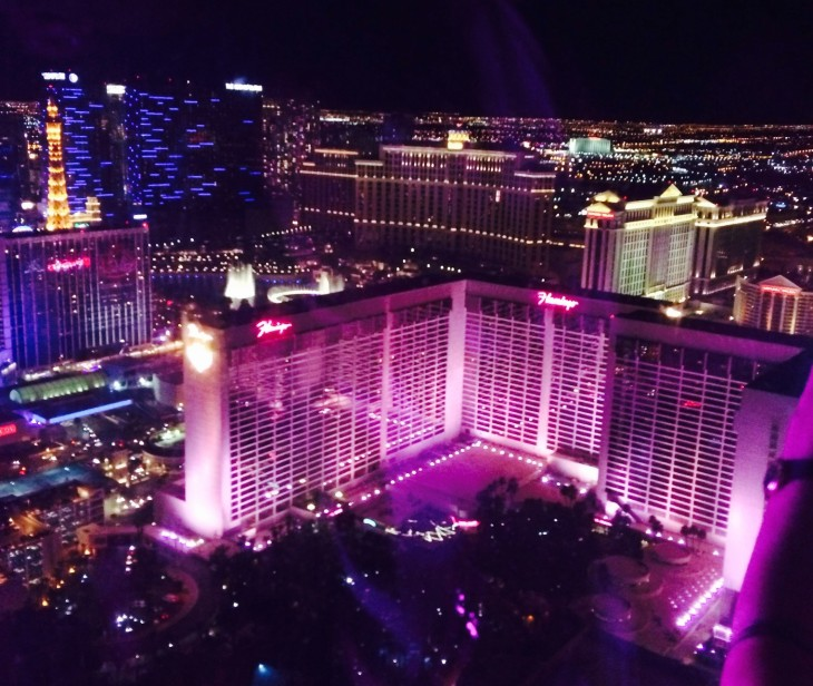 Las Vegas, from the High Roller.