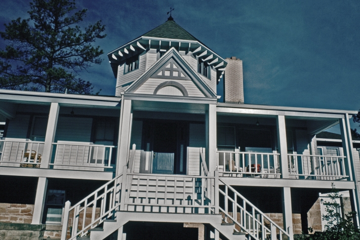 The absolutely haunted Villa Theresa Guest House.