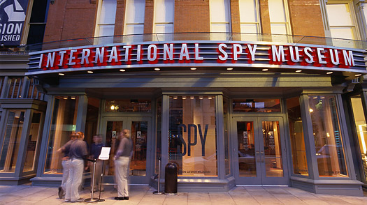 Destinations in Washington, D.C., like the National Spy Museum, can actually appeal to both sides of the gender aisle. (Sharyn Alden photo.)