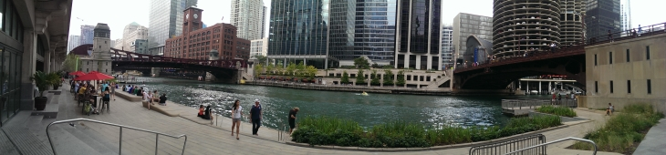 The Riverwalk has added a humanizing, mellowing element to the Windy City.