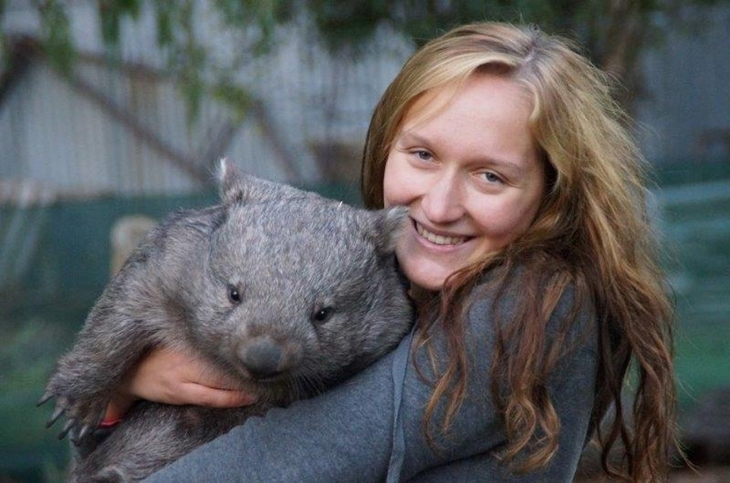 Take your wombat with you on a plane? If it's an emotional-support wombat you might be able to get away with it.