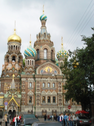 One of St. Petersburg's most famous churches is the Church of the Savior on Spilled Blood (and no, that name is not a typo).