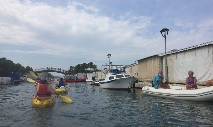 kayak-in-primosten